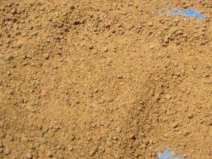 乾燥して色が薄くなり軽くなったボカシ。